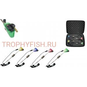 Набор свингеров в кейсе с подсветкой TrophyFish TF 273 (4шт)