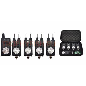 Набор электронных сигнализаторов поклевки с пейджером Trophy Fish TF-0029 (4+1)