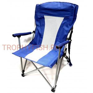 Кресло большое с подлокотниками и со спинкой в чехле тип2
