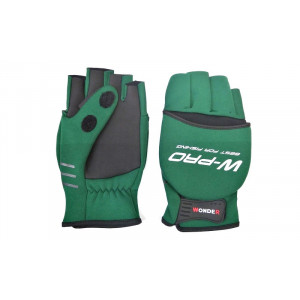 Перчатки WONDER зеленые WG-FGL 072 M