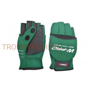 Перчатки WONDER зеленые WG-FGL 073 L