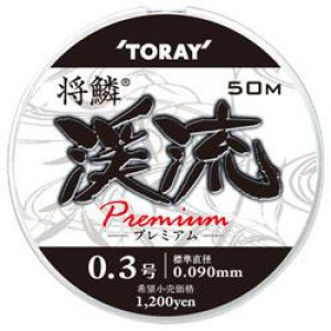 Леска TORAY Keiryu Premium #0.3