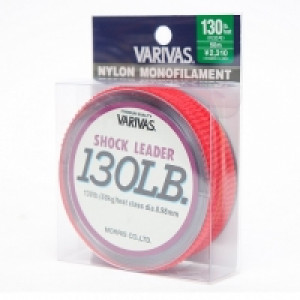 Шок-лидер Varivas SHOCK LEADER NYLON MONOFILAMENT 130LB (#35)