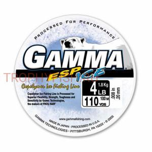 Леска Gamma ESP Ice Copolymer 100m 0,08mm