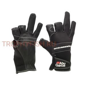 Перчатки Abu Garcia Stretch L
