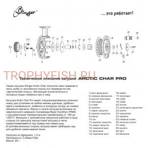 Катушка Stinger Arctic Char Pro