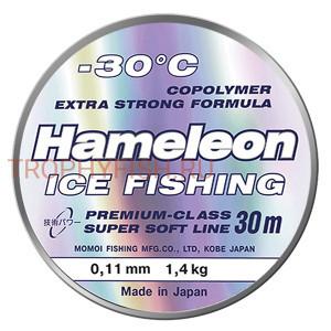 Леска Momoi Hameleon Ice Fishing 50м 0.12мм 1.7кг